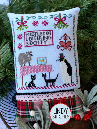Mistletoe Loitering Society - Cross Stitch Pattern
