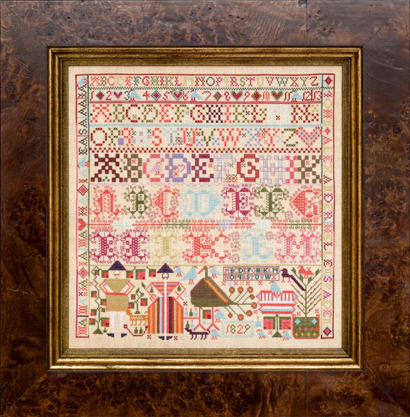 The Alexanders of Linrathen 1829 - Reproduction Sampler