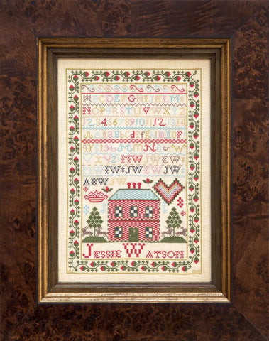 Jessie Watson c.1816 - Reproduction Sampler