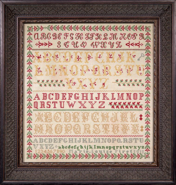 Marie Louise Piret 1911 ~ A Little Gem Reproduction Sampler (PDF)