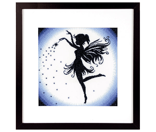 Enchanting Fairy Cross Stitch kit by Lanarte