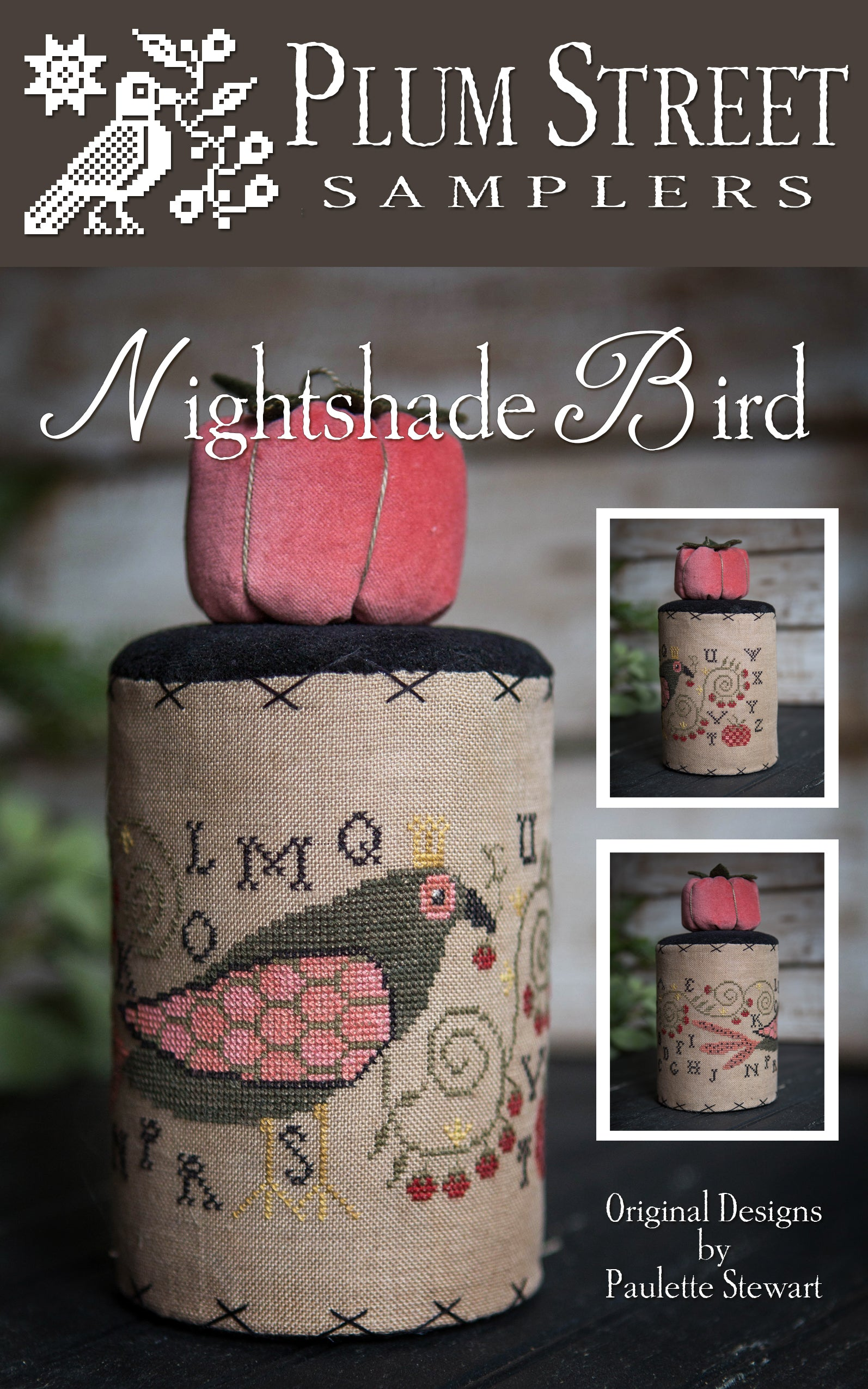 Nightshade Bird - Cross Stitch Pattern