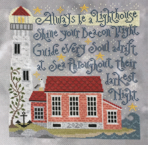 Lighting the Way - Cross Stitch Pattern