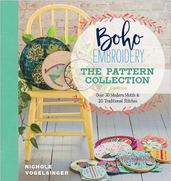 Boho Embroidery - The Pattern Collection