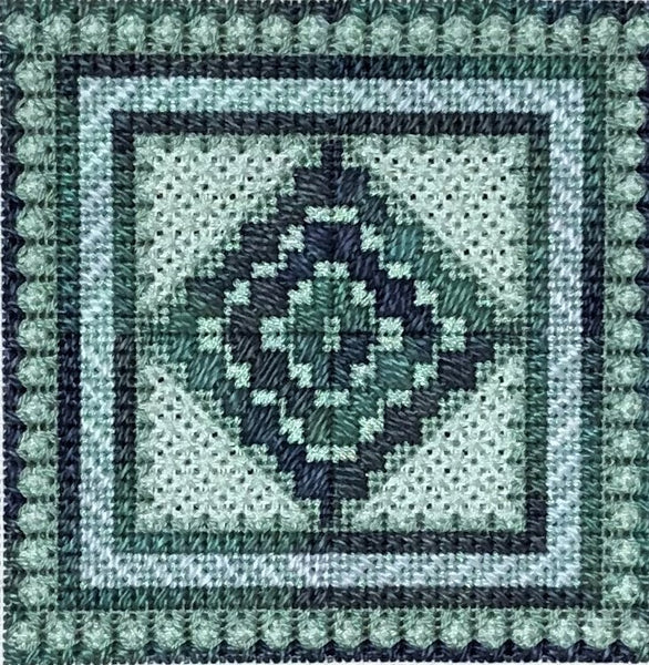 Color Delights Seaglass - Needlepoint Design