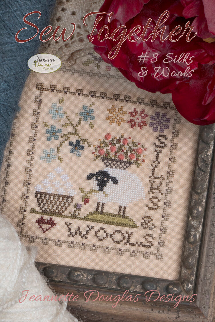Sew Together #8 Letters & Numbers - Cross Stitch Pattern