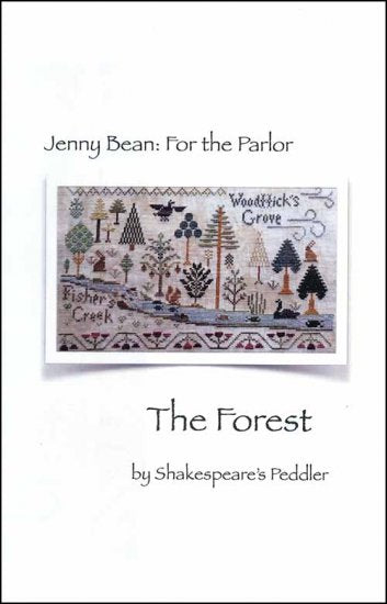 Jenny Bean: For the Parlor - Part 6 The Forest