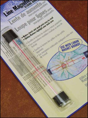 Line Magnifier with Sliding Marker