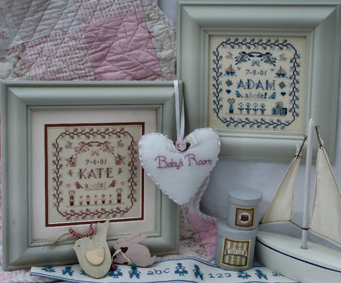 Baby's Room - Cross Stitch Pattern