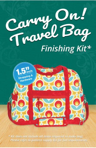 Carry On! Travel Bag Finishing Kit