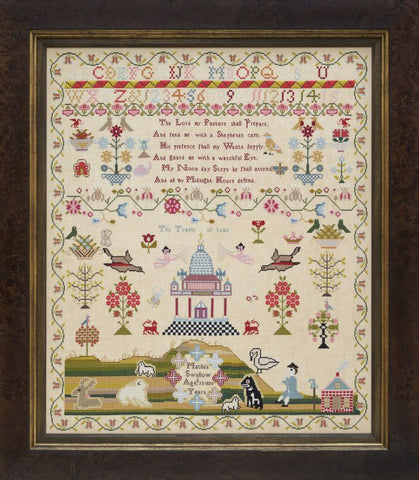 Matilda Swallow 1820 ~ Reproduction Sampler