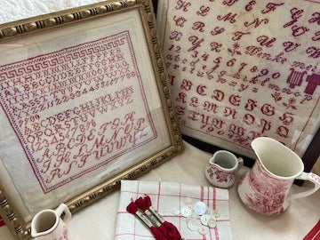 The Antique Red Sampler Collection - Cross Stitch Pattern