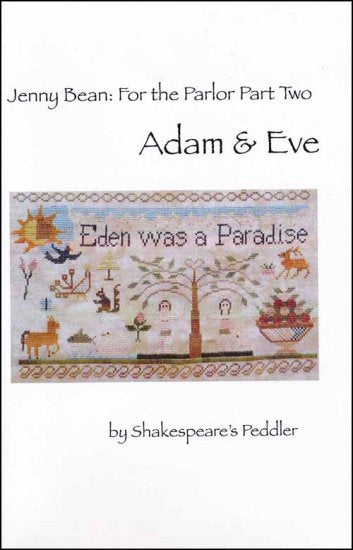 Jenny Bean: For the Parlor - Part 2 Adam & Eve