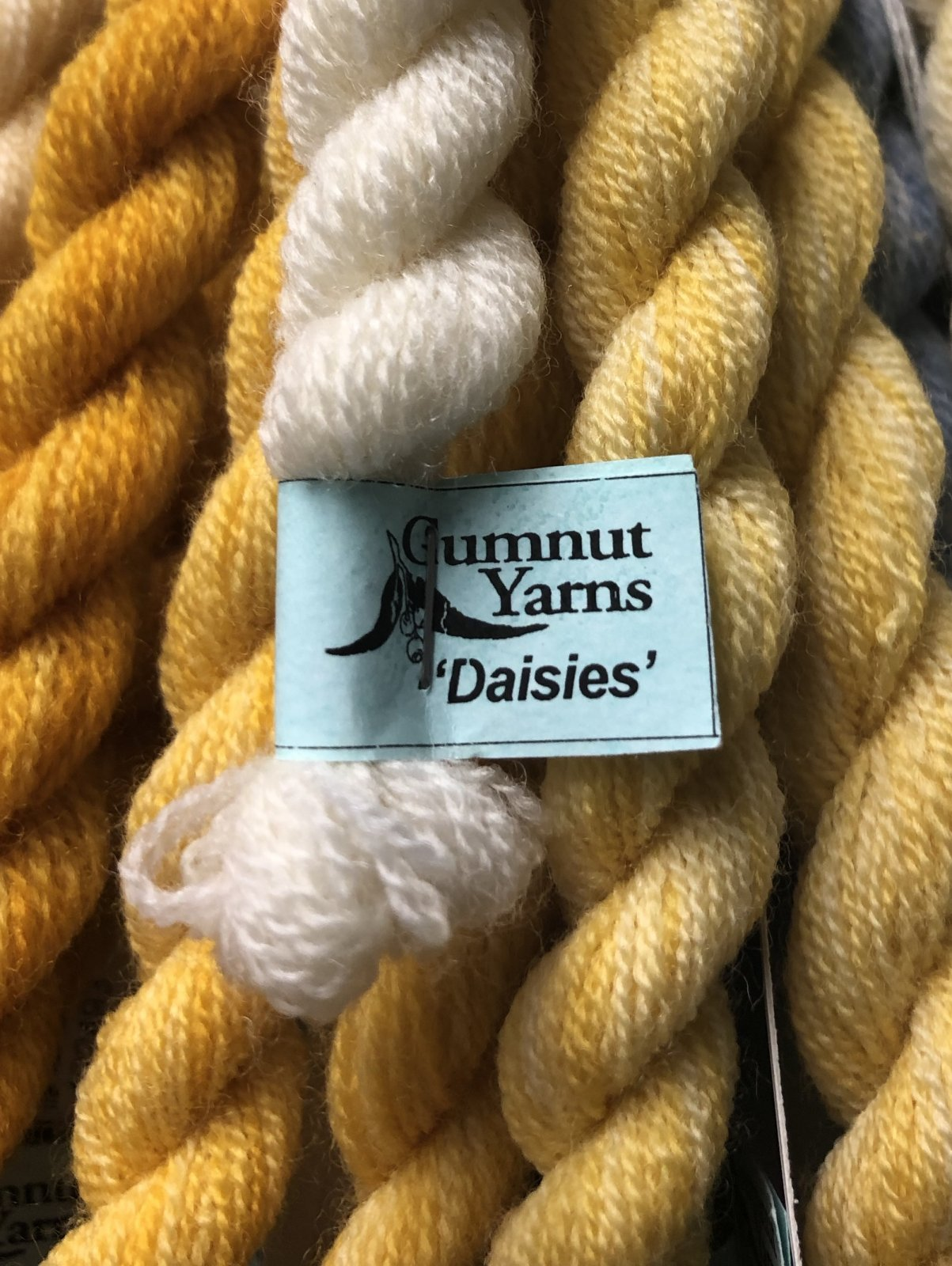 Gumnut Daisies (fine wool) Colours (581-999)