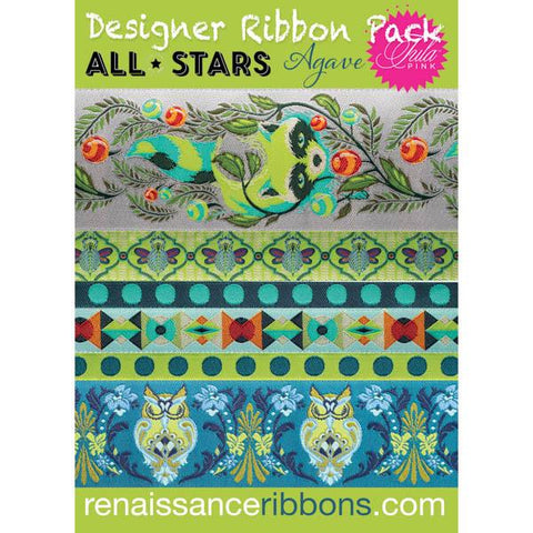 Tula Pink - All Stars Designer Ribbon Pack