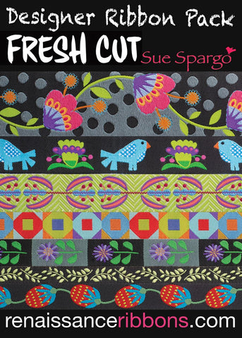 Fresh Cut Ribbon Pack by Sue Spargo