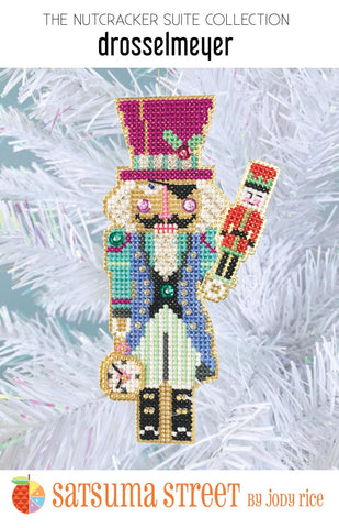 Drosselmeyer Ornament Kit - Cross Stitch Kit