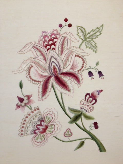 Flamboyant Embroidery Design