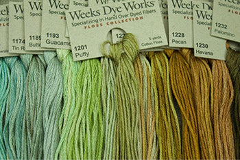 Weeks Dye Works Stranded Cotton  (Floss)
