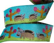 Hippos Ribbon - Folk Tails by Sue Spargo