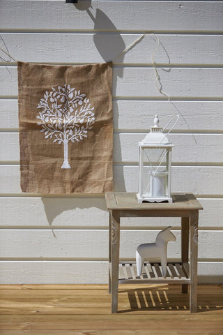 Pear Tree - Cross Stitch Kit on Hessian