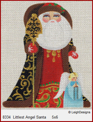 LD8334 Littlest Angel Santa