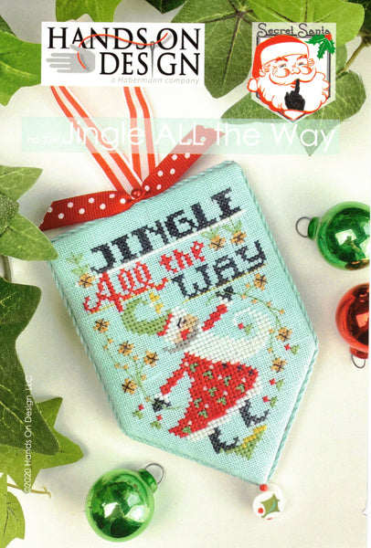 Jingle All The Way - Cross Stitch Pattern by Hands On Design
