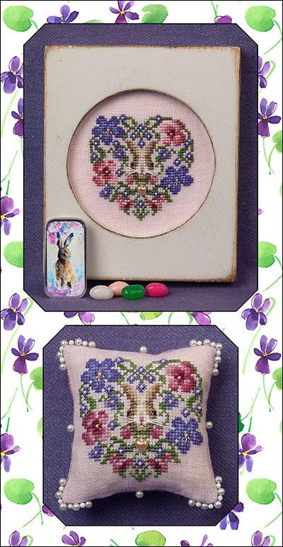 Heart of Spring with March Hare mini slide