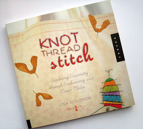 Knot Thread Stitch by Lisa Solomon