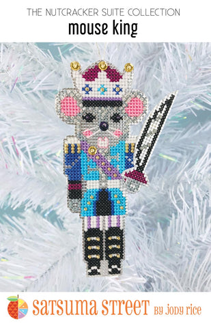 Mouse King Ornament Kit - Cross Stitch Kit
