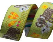 Elephant Mama & Baby Ribbon - Folk Tails by Sue Spargo