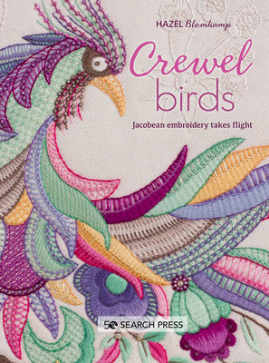 Crewel Birds book by Hazel Blomkamp