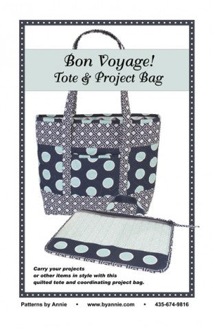Bon Voyage! Tote and Project Bag - By Annie