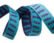 Reversible Turquoise & Purple Arrows - Folk Tails by Sue Spargo