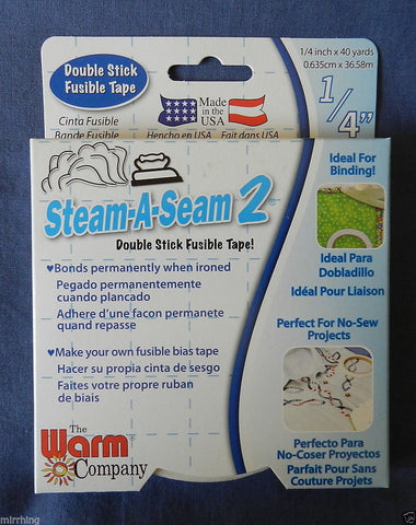 Steam-A-Seam 2 - 1/4inch wide