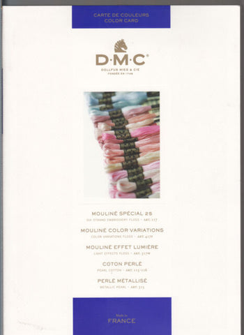 DMC Color Card