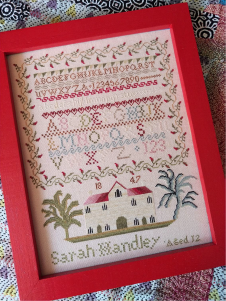 Sarah Handley 1847 - Cross Stitch Pattern