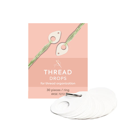 Thread Drops - Oval
