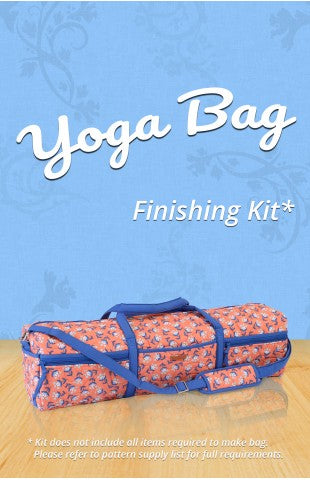 Yoga Bag Finishing Kit - Including 'Taupe' Zippers