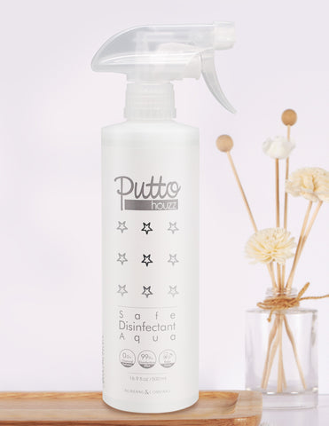 107. Putto houzz Safe Disinfectant Aqua 消毒鹼性電解水 (500 ml)