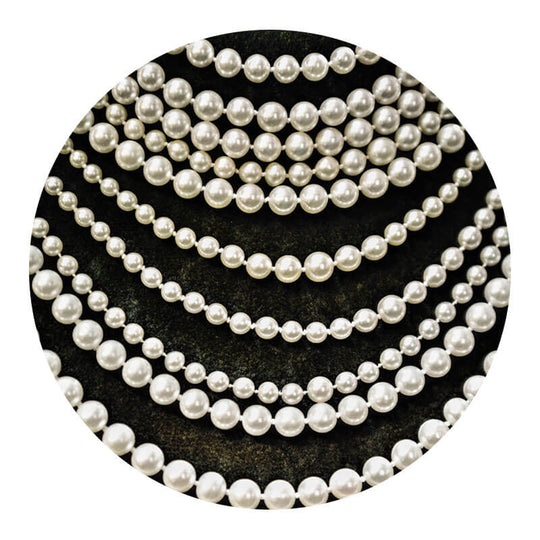 Re-threading of Pearls & Other Beaded Necklaces