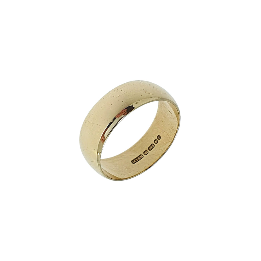 9ct Gold Wide Wedding Ring