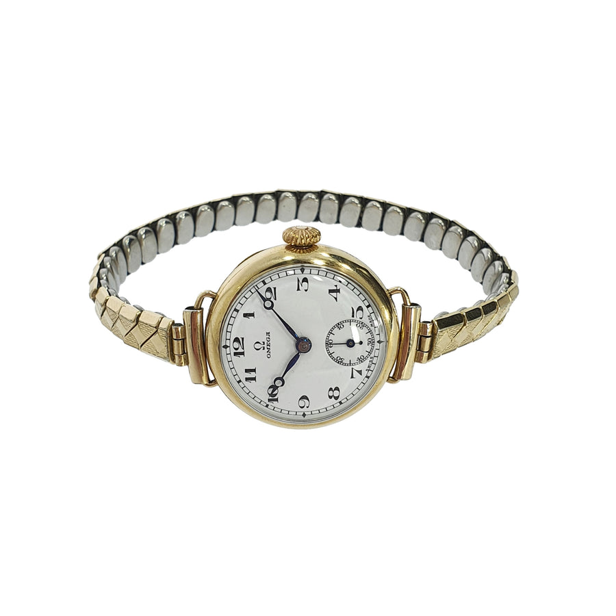 1930's 9ct Gold Omega Wristwatch