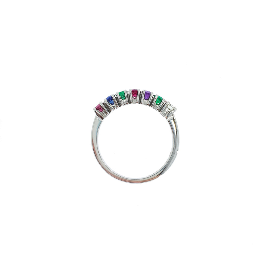 Vintage 'Dearest' Gemstone Ring