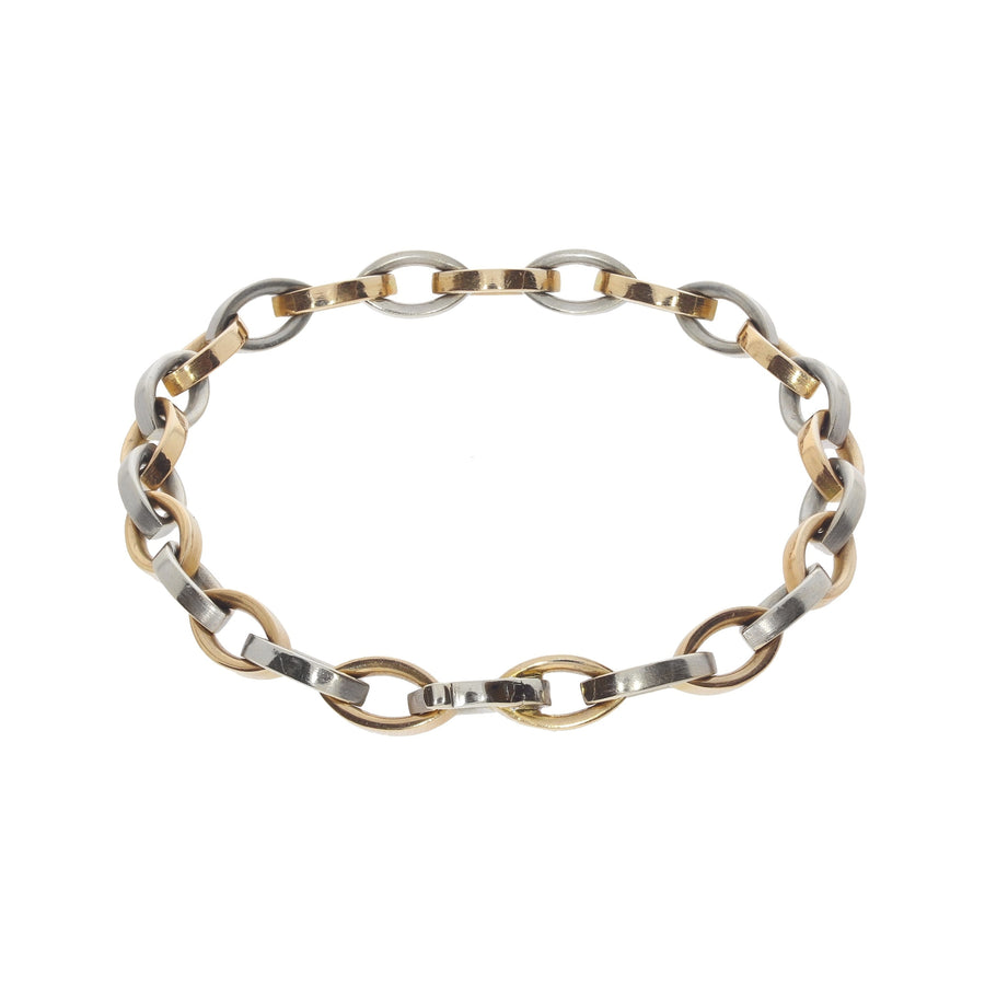 Rose & White Gold Bracelet