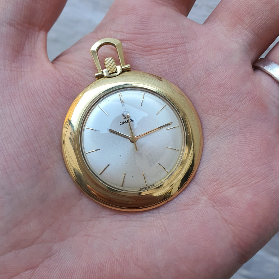 18ct Omega 1961 Pocket Watch