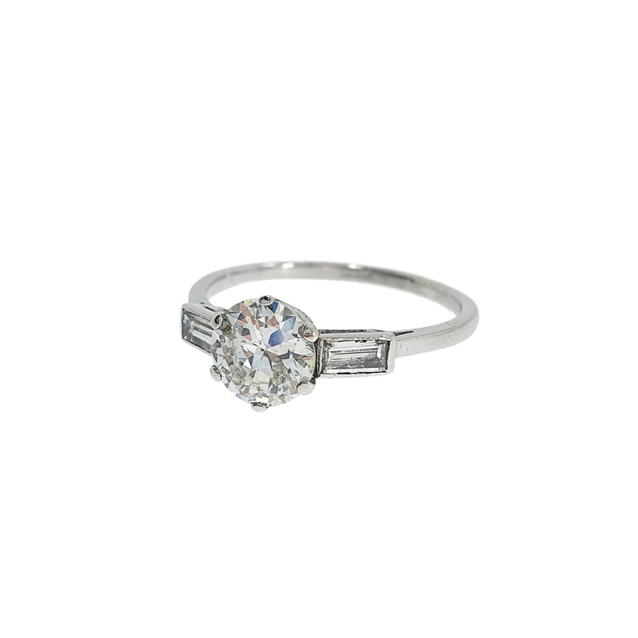 Vintage 1.59ct Diamond Solitaire Ring