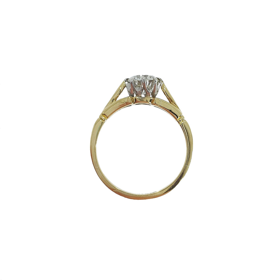 0.66ct Diamond Solitaire Ring