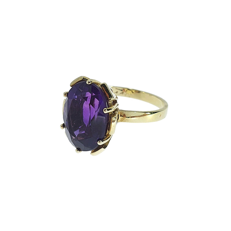 Vintage Amethyst Dress Ring