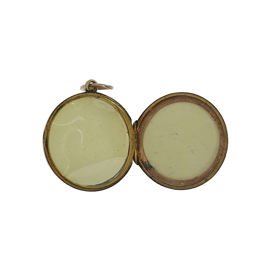 9ct Gold Round Wedding Locket